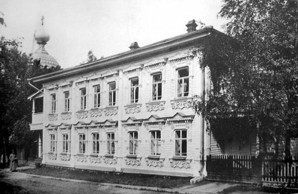 Дом причта. Фото 1911-1912.