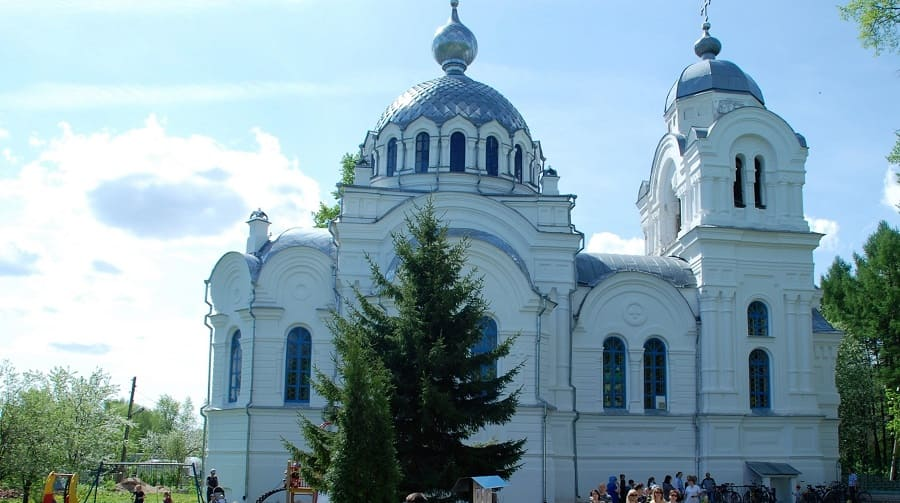 Свято-Воскресенский храм (старый) г. Вичуга